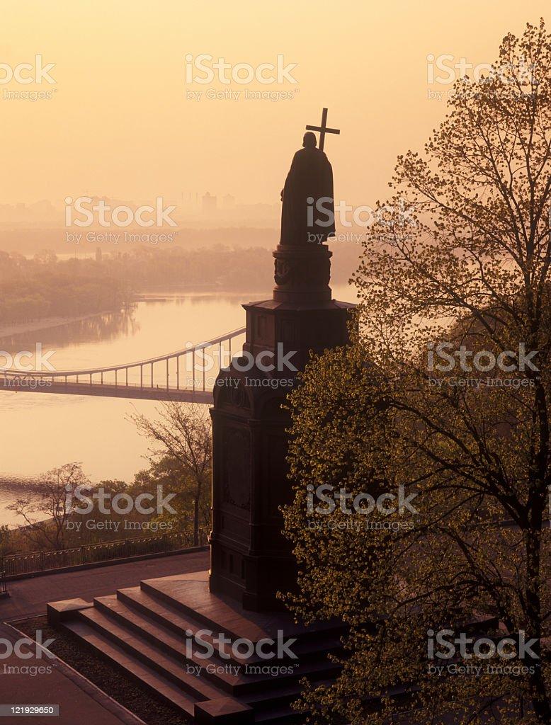 Denkmal für Vladimir Lizenzfreies stock-foto