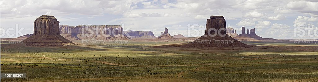 Monument Valley After the Rain stock photo