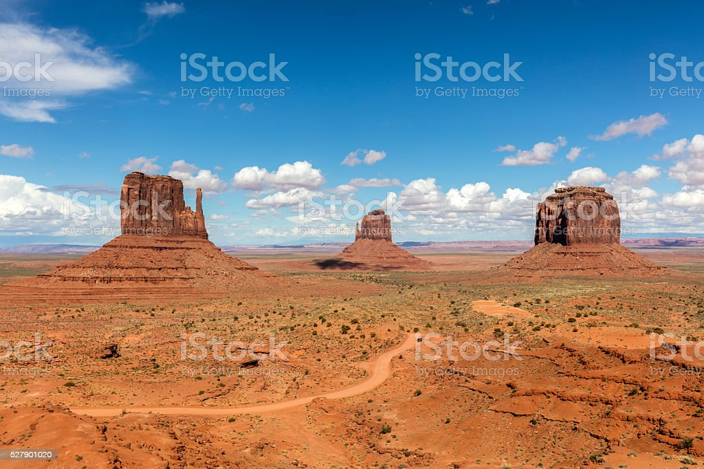 Monument Valley, Arizona USA stock photo