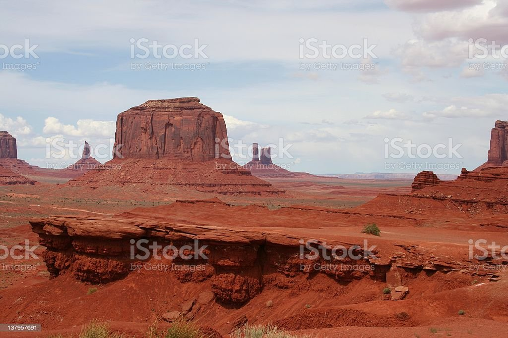 Monument Valley, John Ford's Point royalty-free stock photo