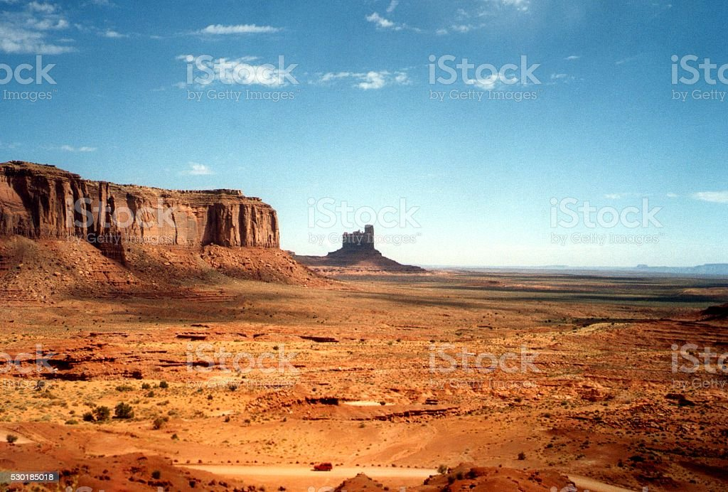 Monument Valley landscape, Arizona-Utah stock photo