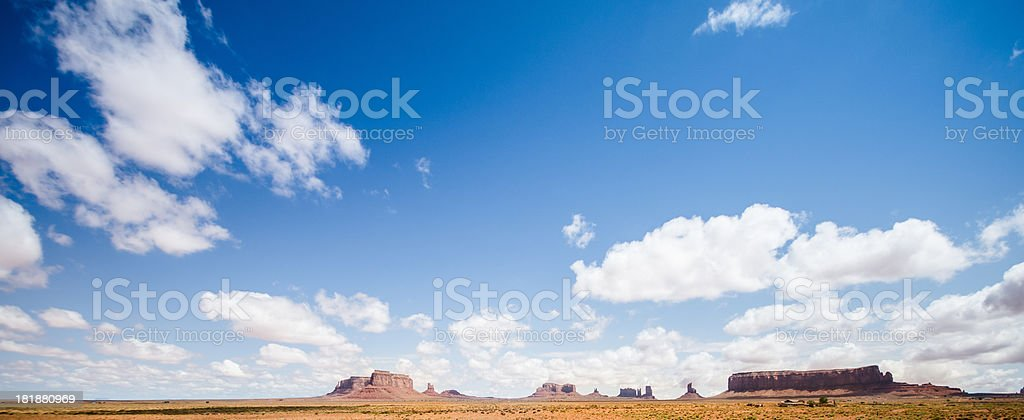 Monument valley landscape royalty-free stock photo