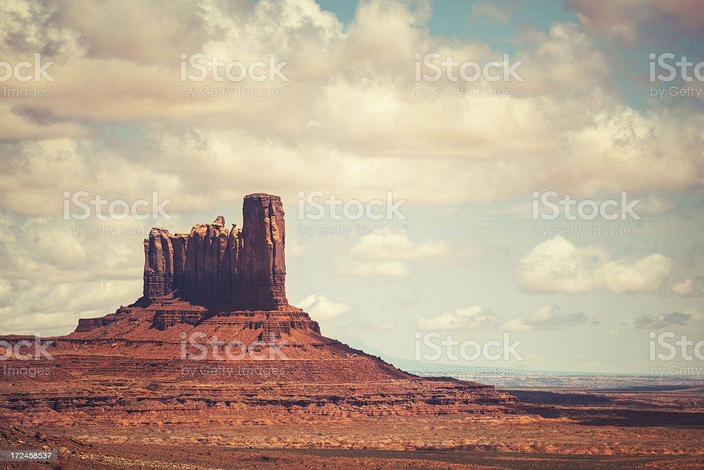 Monument valley National park desert royalty-free stock photo