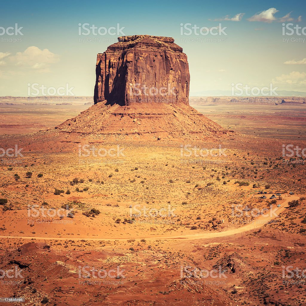 Monument valley National park royalty-free stock photo