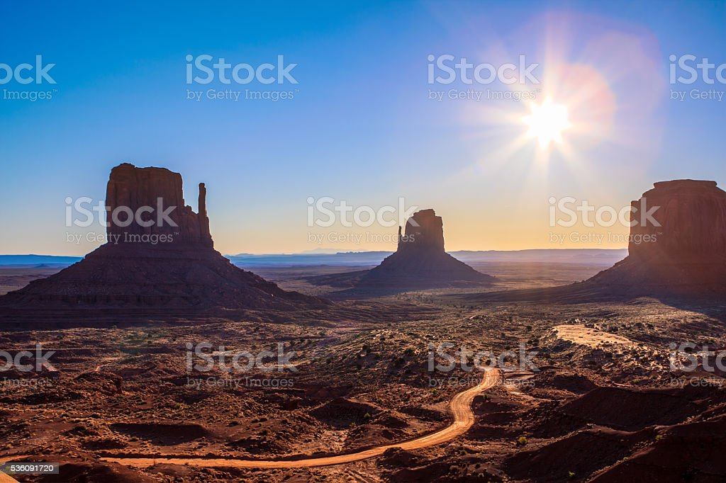 Monument Valley National Park stock photo