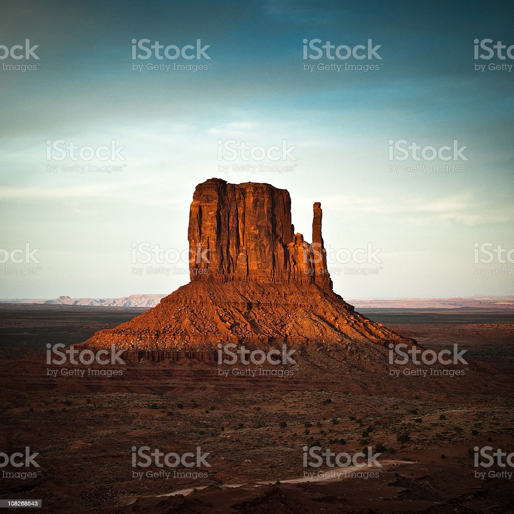 Monument Valley panorama royalty-free stock photo