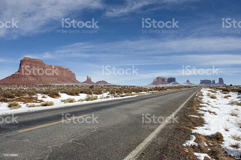 Monument Valley. royalty-free stock photo