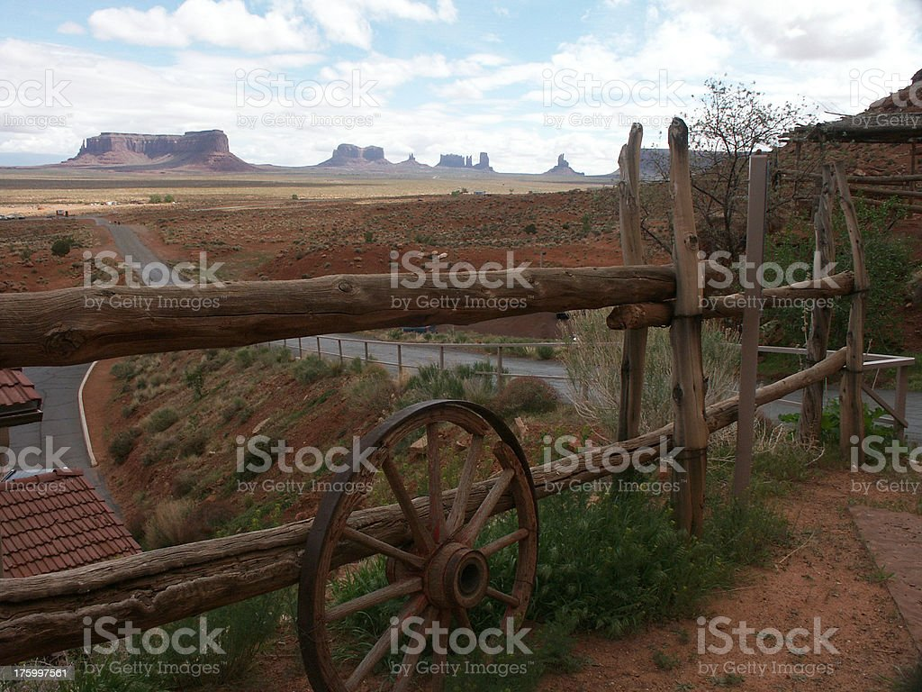 Monument Valley Trading Post royalty-free stock photo