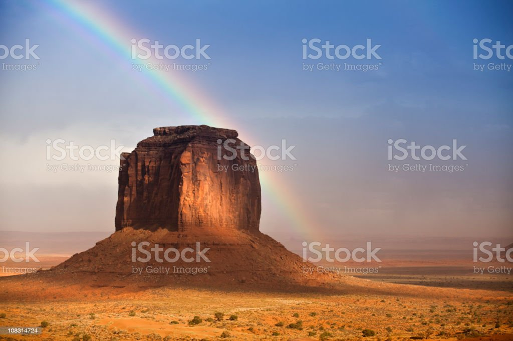 Monument Valley Tribal Park royalty-free stock photo