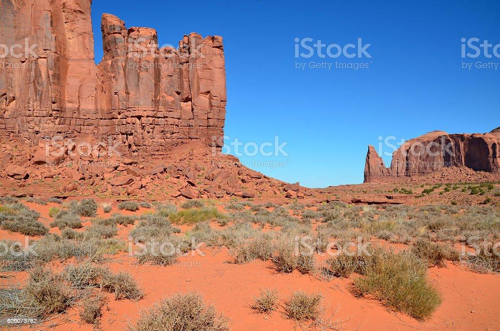 Monument Valley Tribal Park stock photo