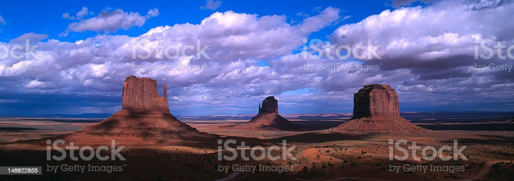 Monument Valley Tribal Park Utah royalty-free stock photo