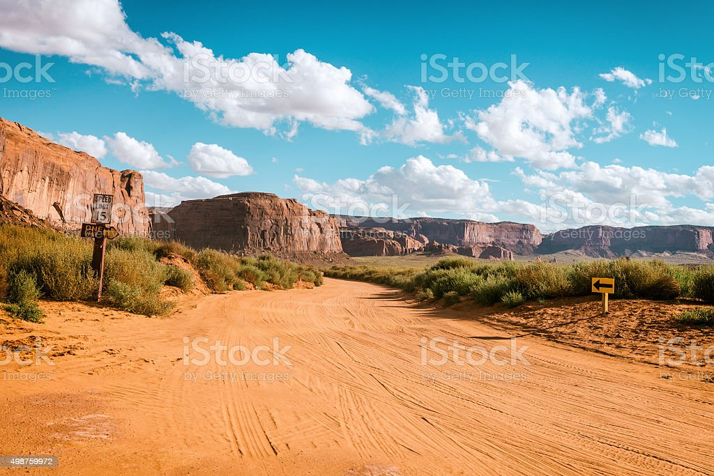Monument Valley, USA stock photo