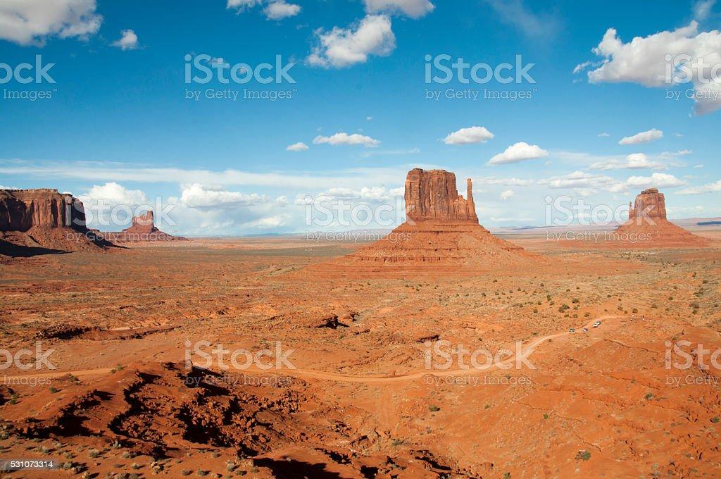 monument valley, USA stock photo