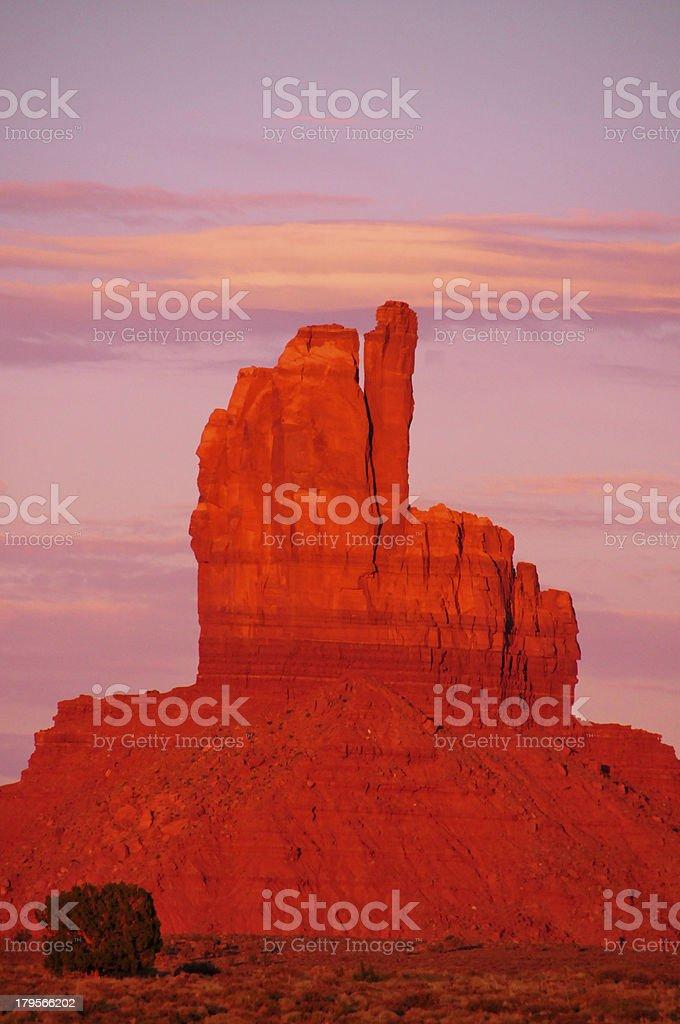 Monument Valley, Utah, USA: Big Indian royalty-free stock photo