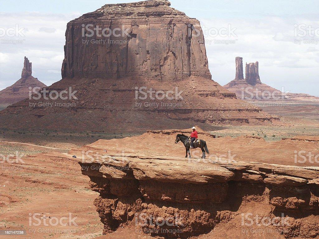 Monument Valley  Vista royalty-free stock photo