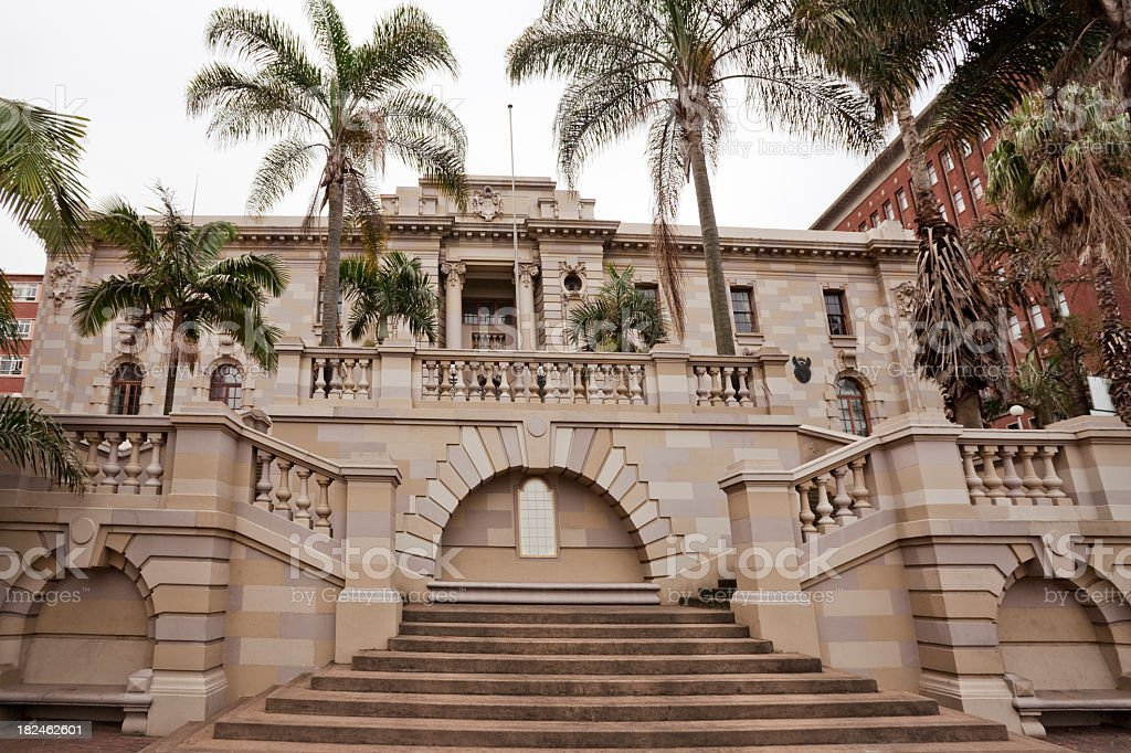 Monumental Building in Durban stock photo