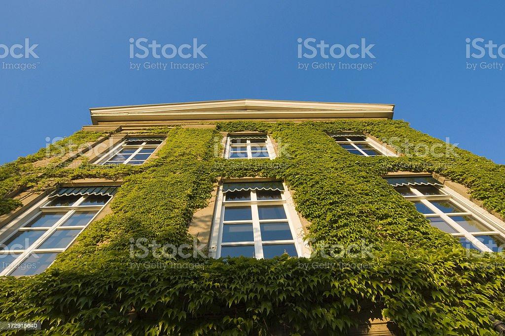 Monumental building in Gorinchem stock photo
