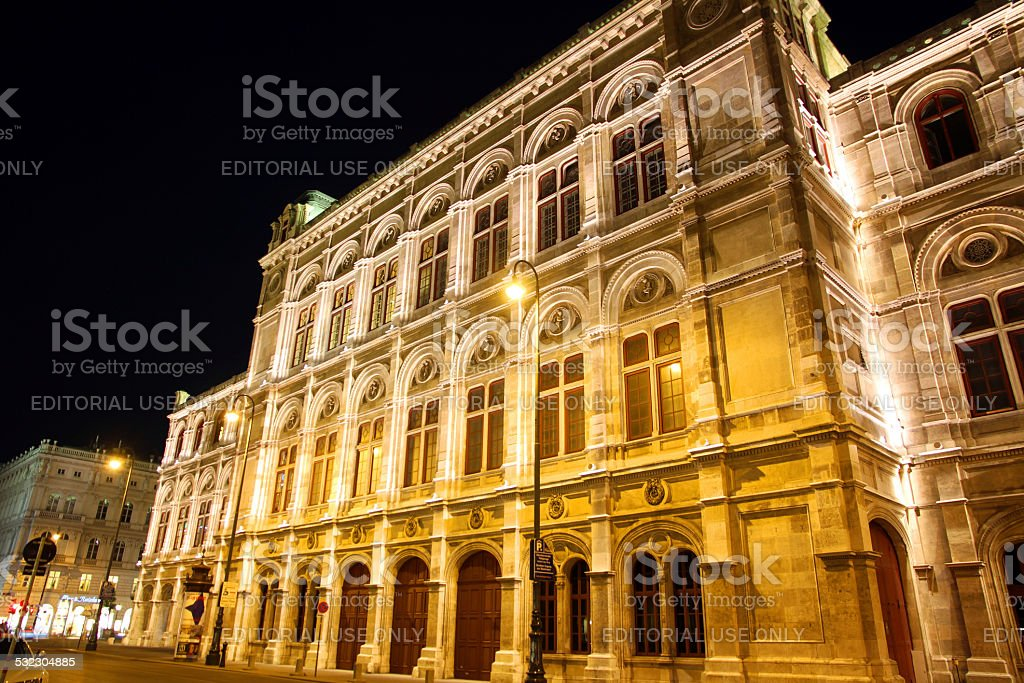 Monumental Opera stock photo