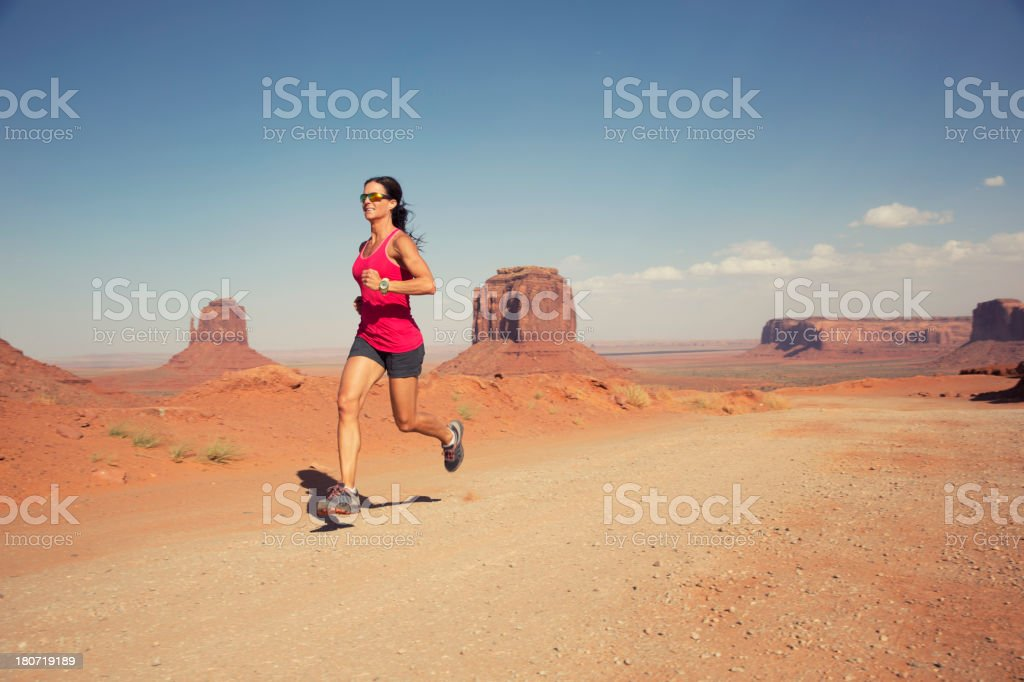 Monumental Run royalty-free stock photo