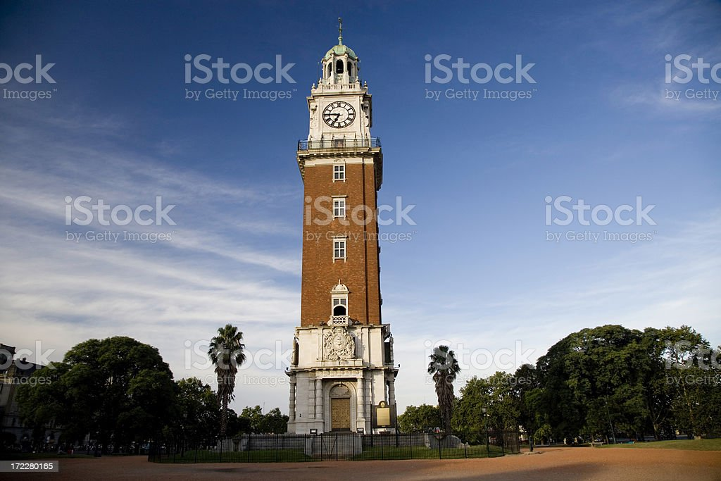 Torre Monumental Retiro Buenos Aires Argentina royalty-free stock photo