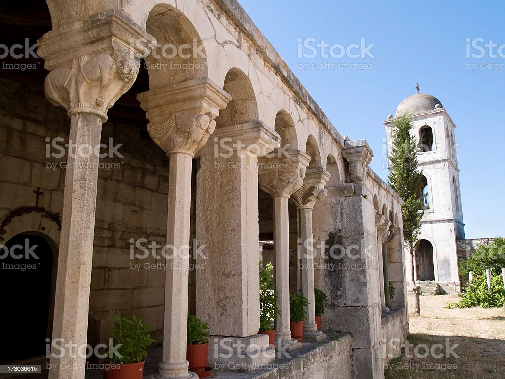 Monuments of Apollonia royalty-free stock photo