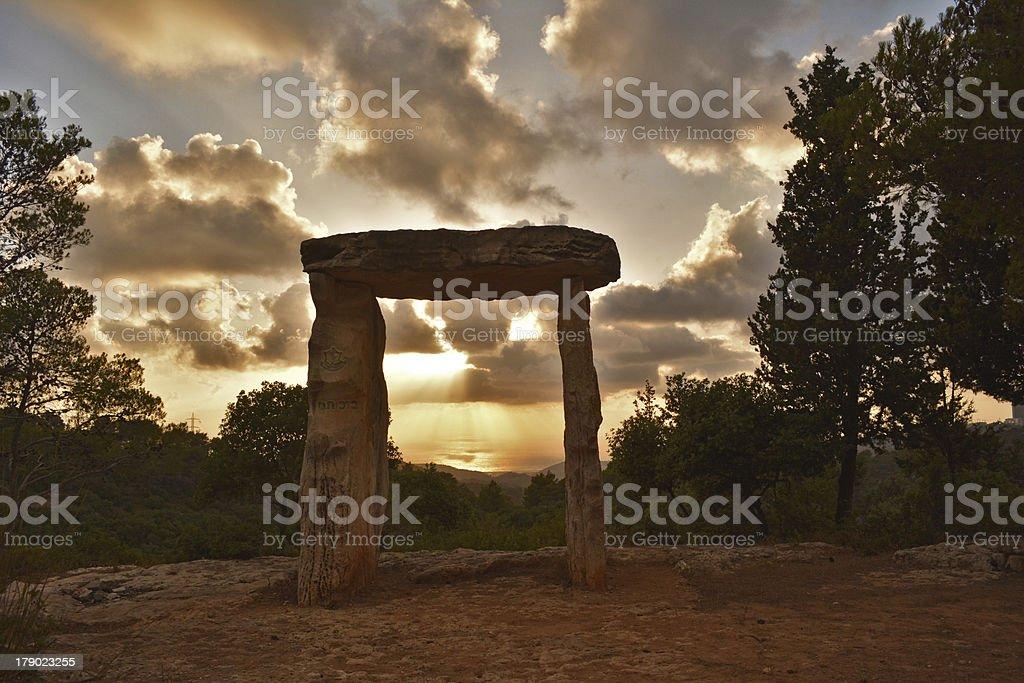 Monuments royalty-free stock photo