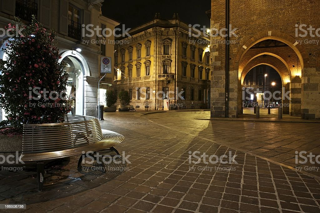 Monza by Night royalty-free stock photo