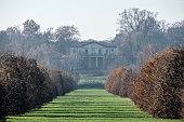 Monza park (Italy) at fall