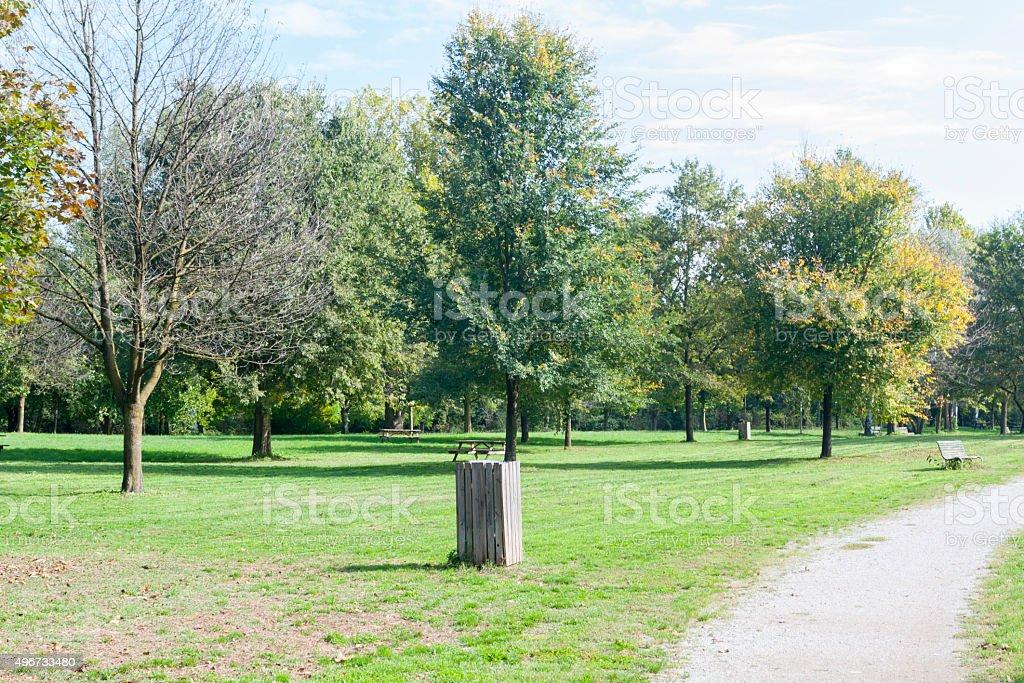 Monza Park stock photo
