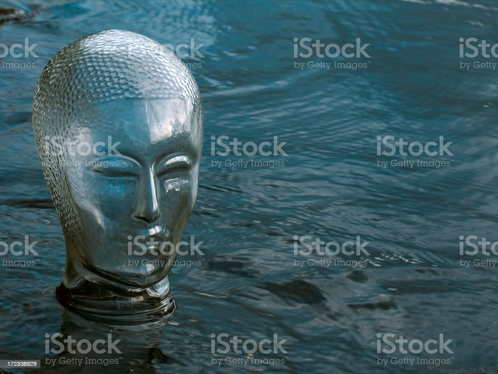 Mood concepts; Inner peace royalty-free stock photo