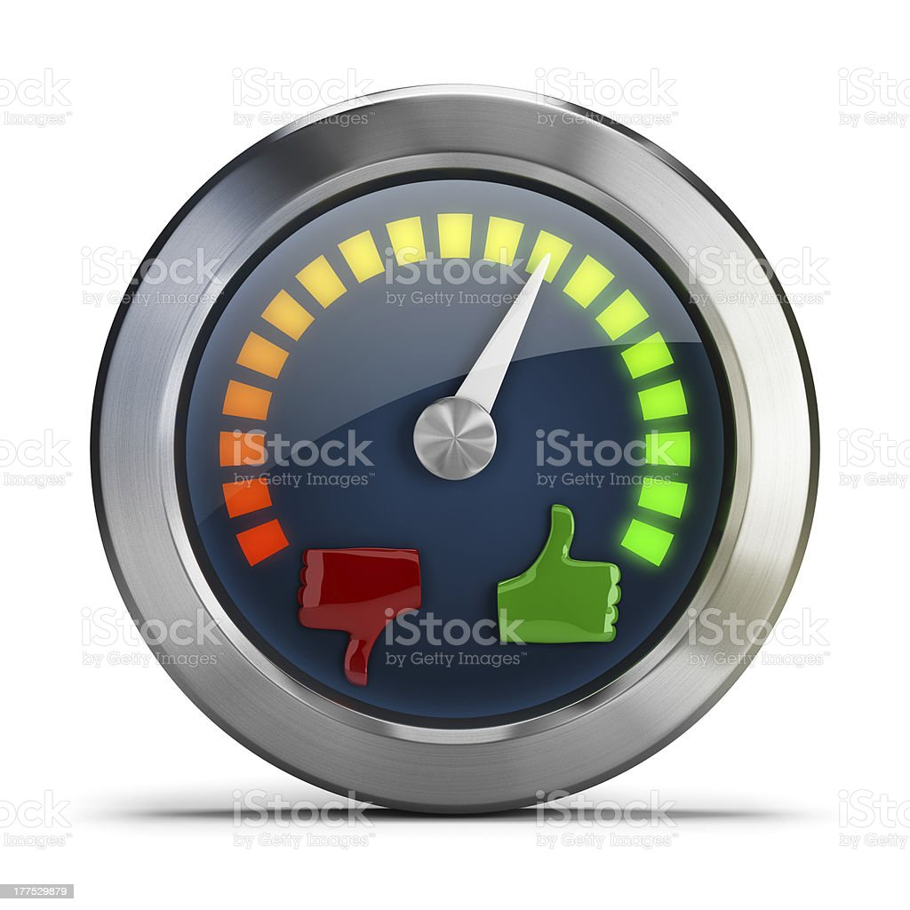 mood meter royalty-free stock photo