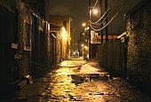 Moody Alleyway
