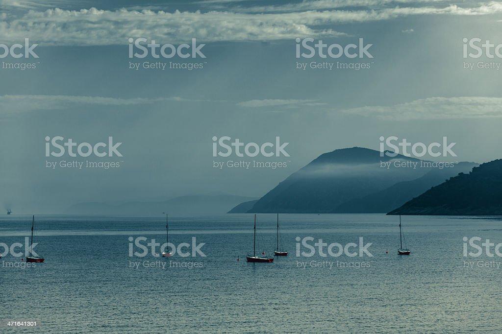 Moody Bay stock photo