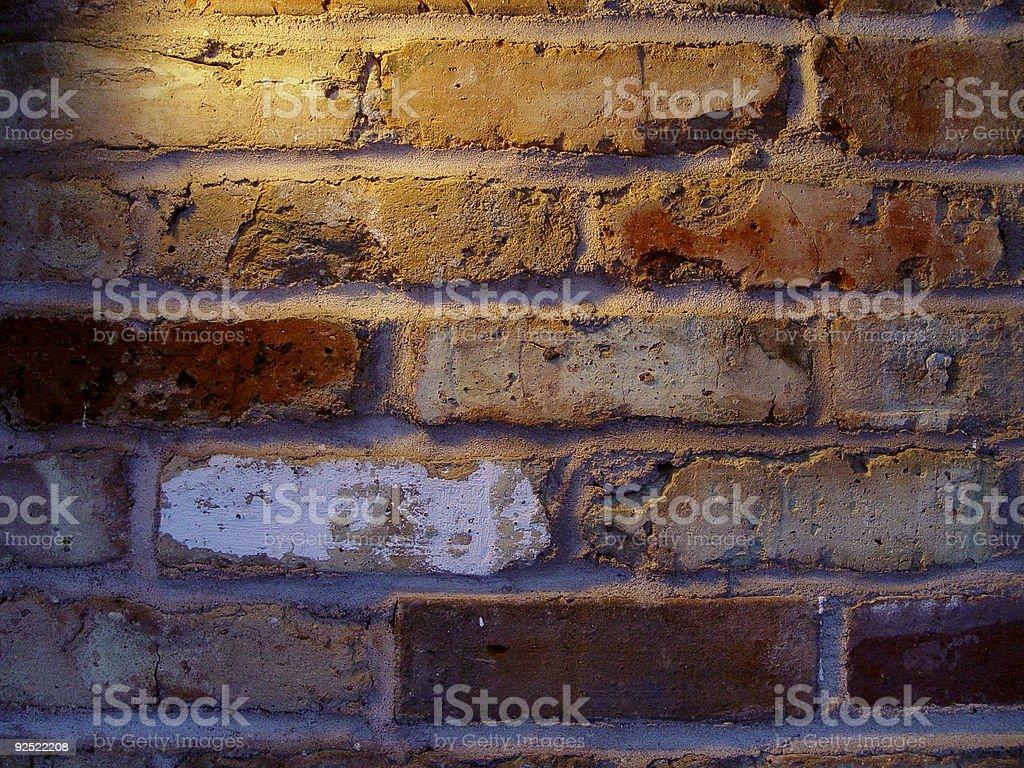 moody brick wall stock photo