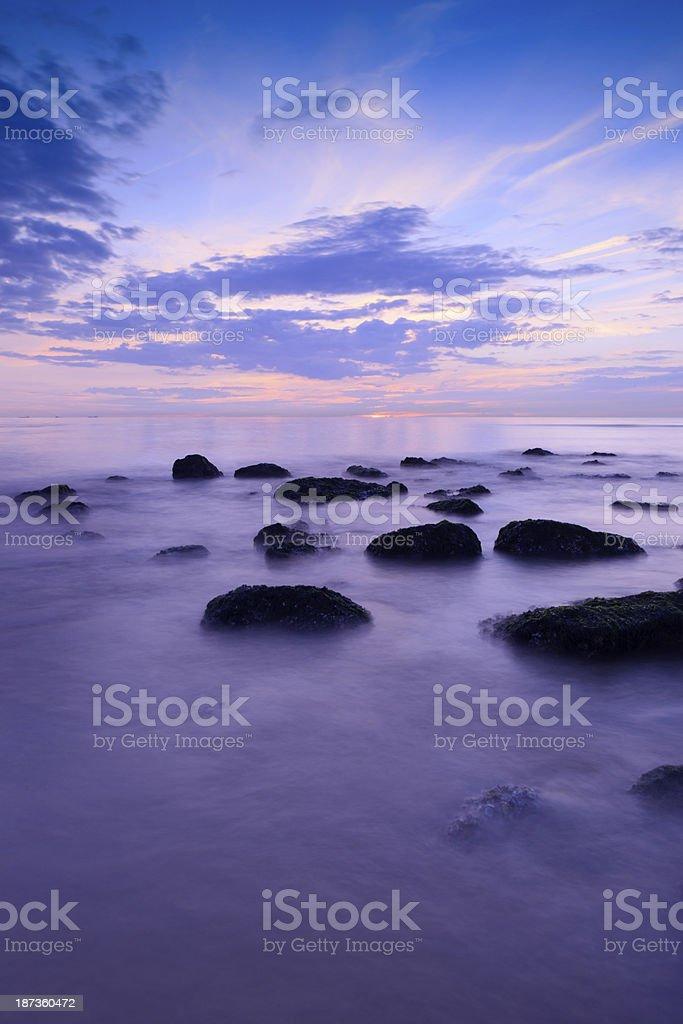 moody seascape royalty-free stock photo