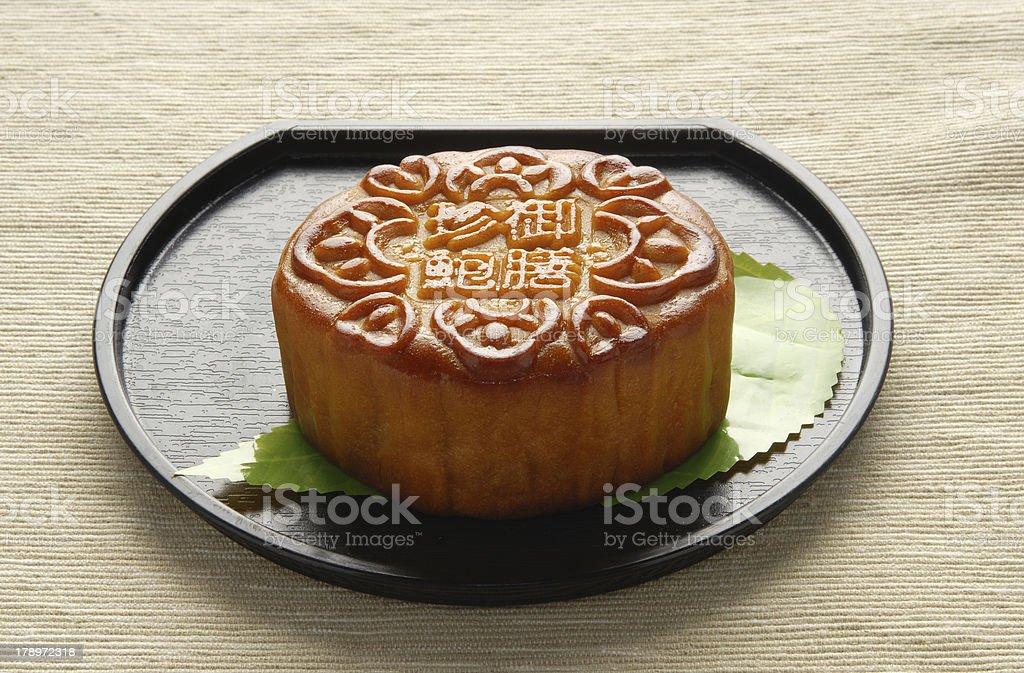 Moon cake royalty-free stock photo
