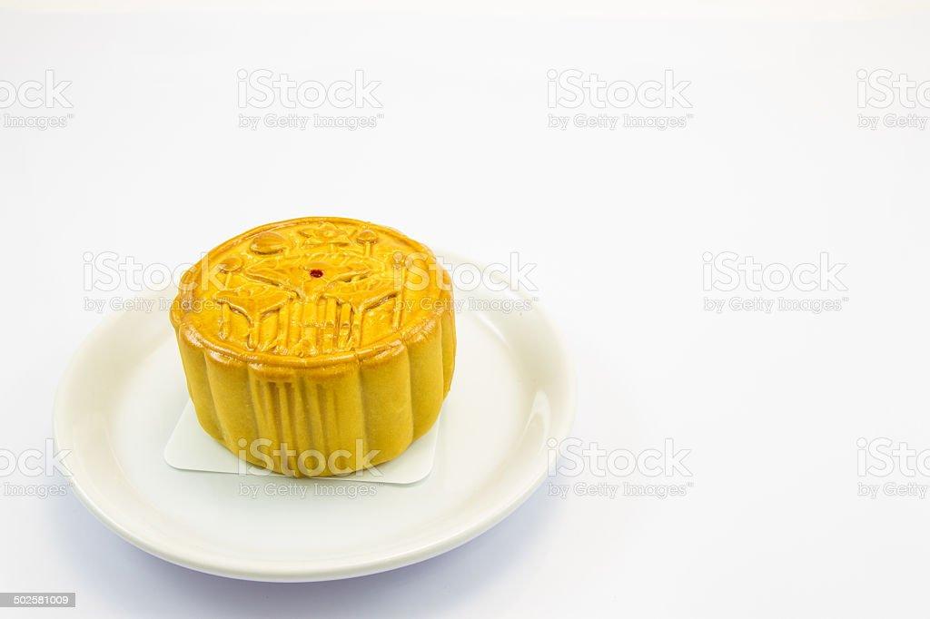 moon cake stock photo