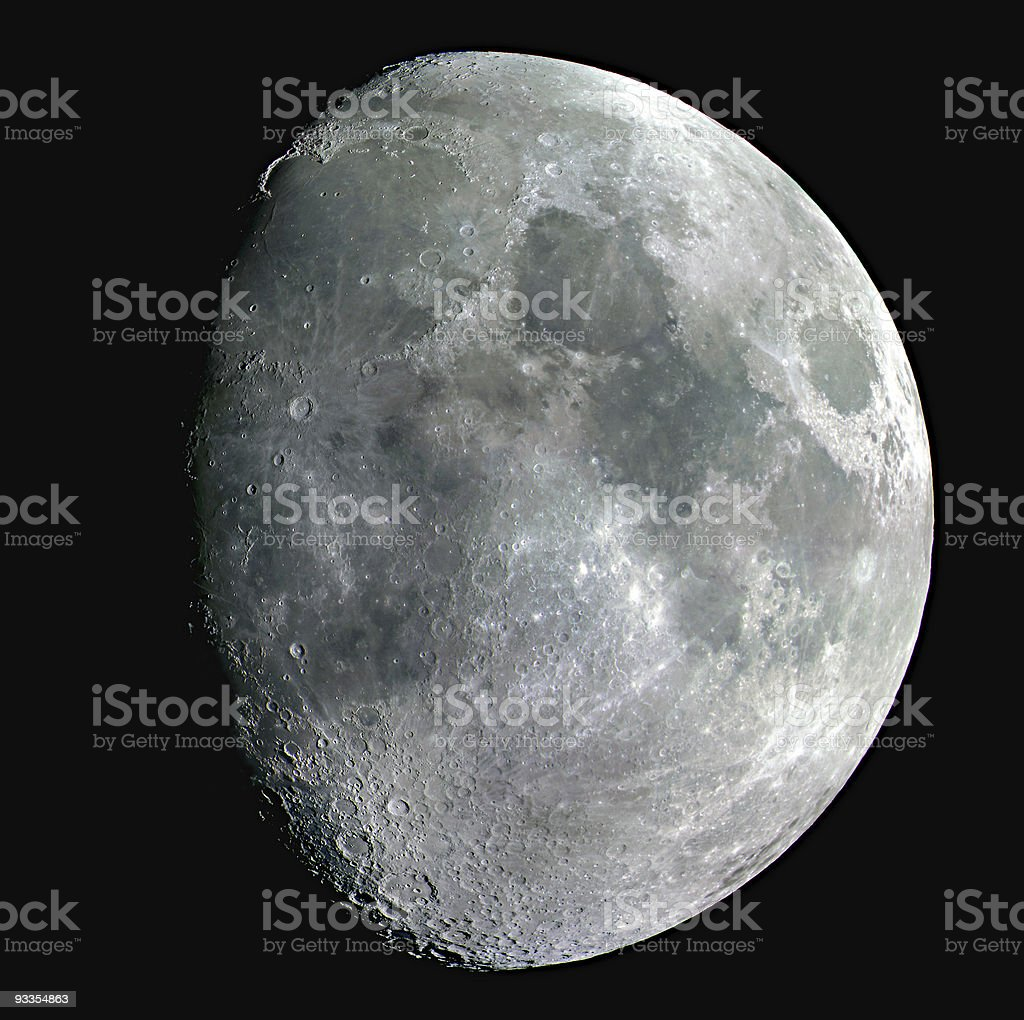 Moon from Venice royalty-free stock photo