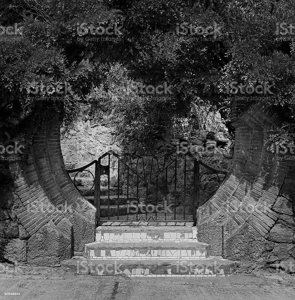 Moon Gate royalty-free stock photo