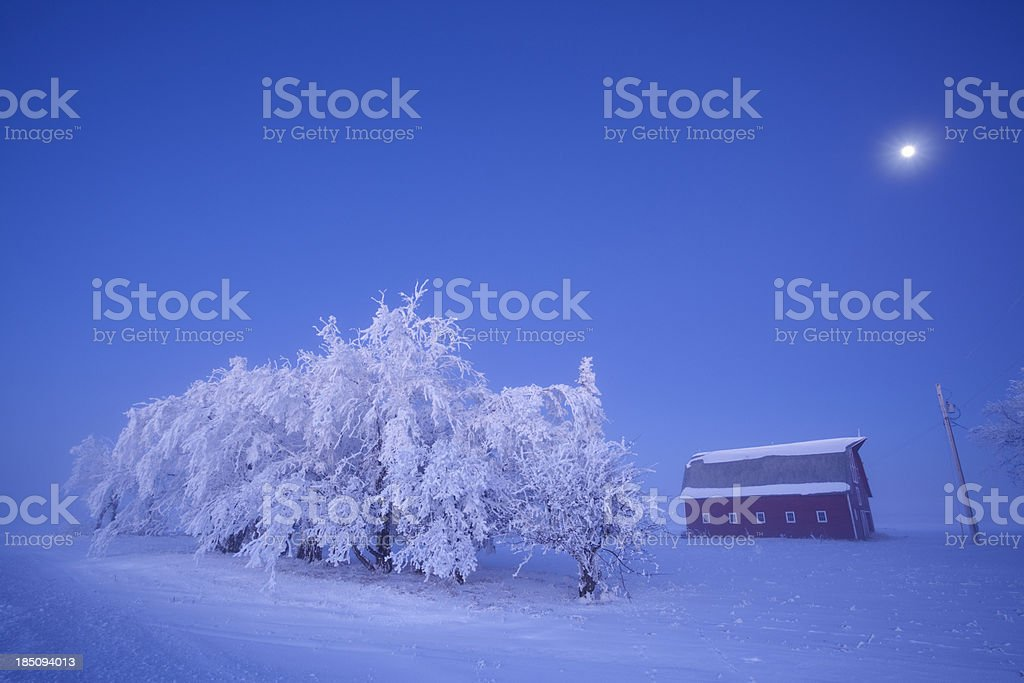 3XL Moon Light Manitoba royalty-free stock photo