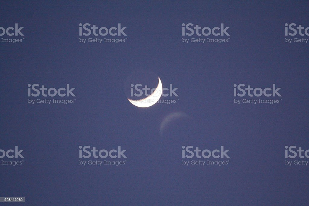 Noche de luna stock photo