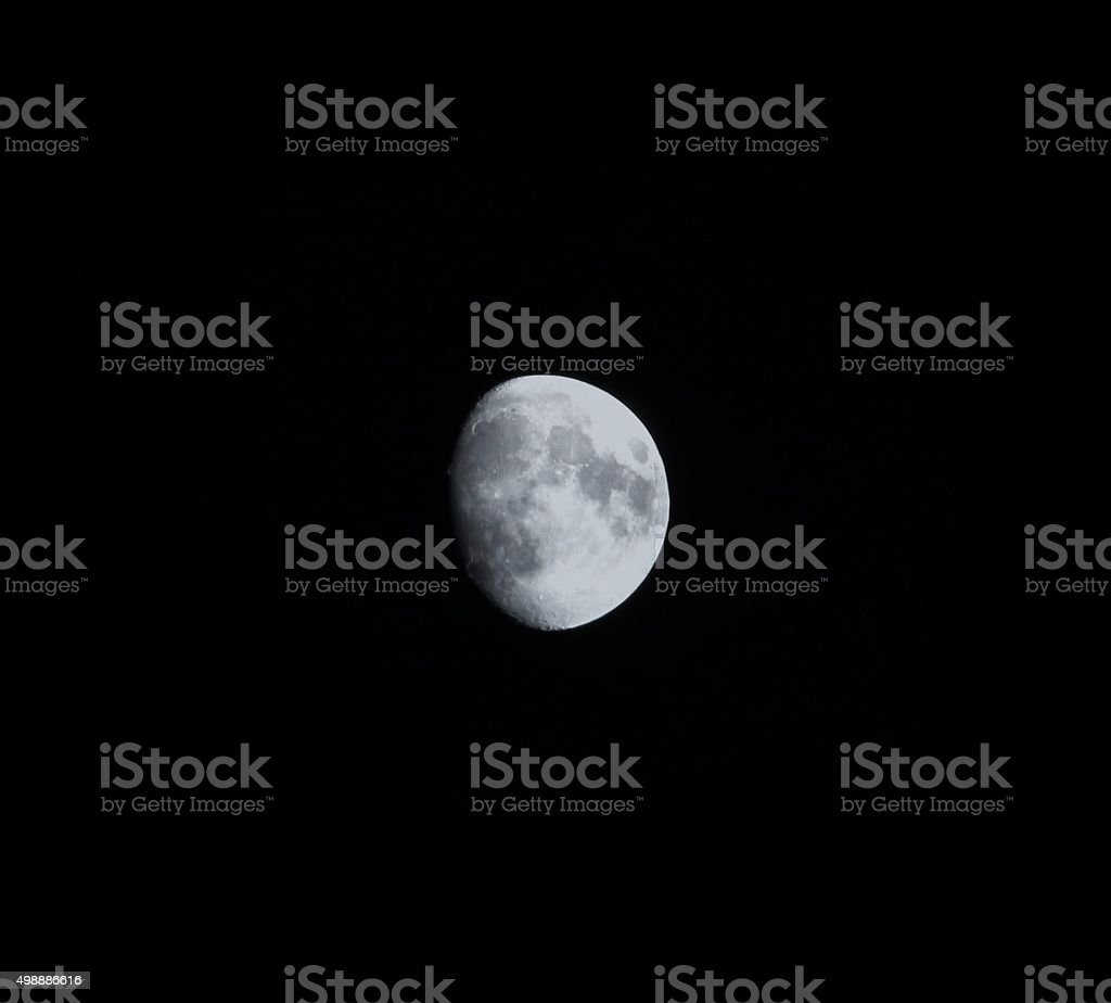 Moon phase stock photo