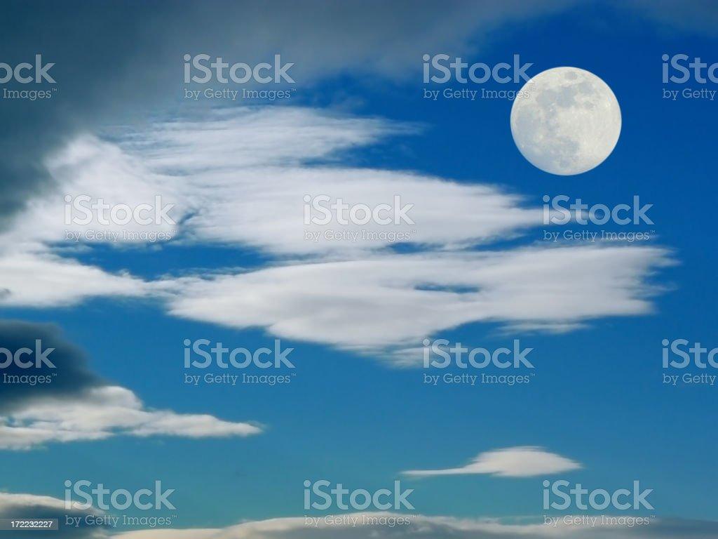 Moon. royalty-free stock photo