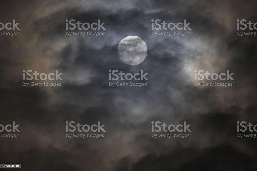 Moon (2) royalty-free stock photo