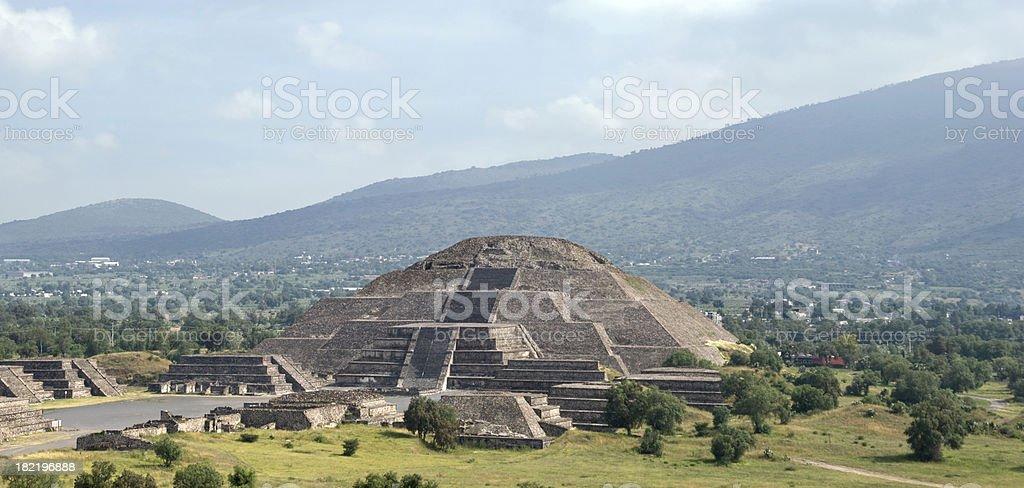 Moon Pyramid stock photo