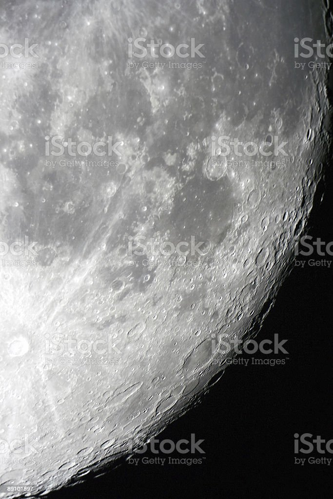 Moon surface royalty-free stock photo