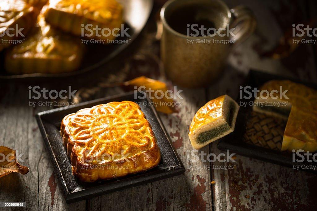 Mooncakes stock photo