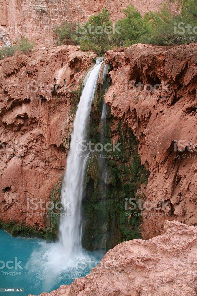 Mooney Falls stock photo