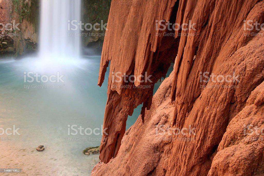 Mooney Falls royalty-free stock photo