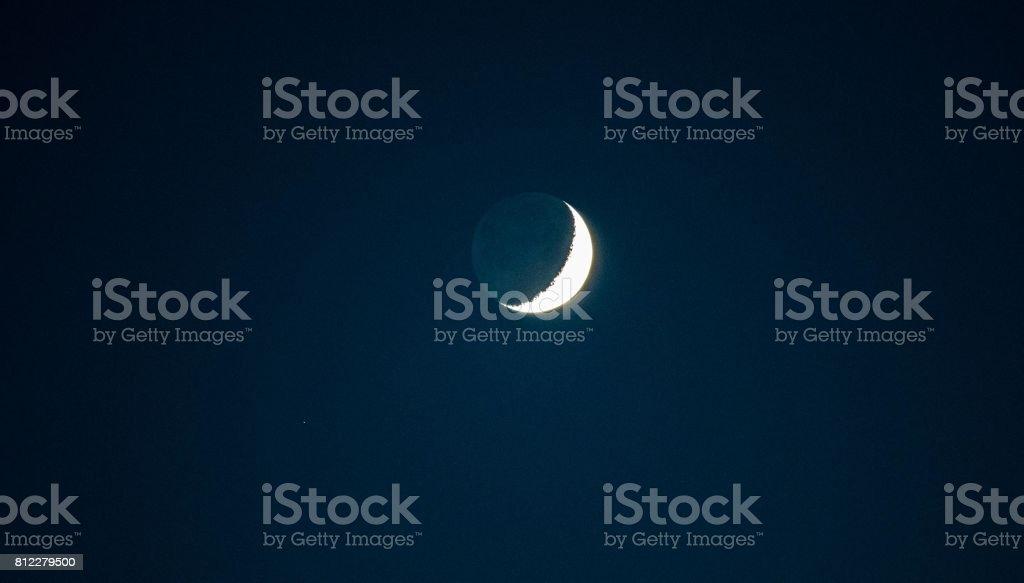 Moonlight Night stock photo